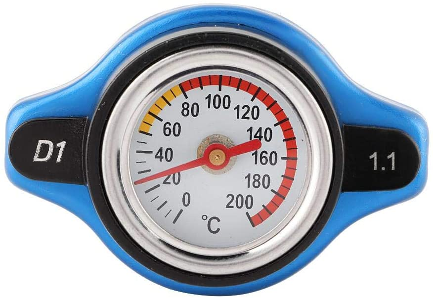 Radiator cap with universal water temperature meter (1.1 bar)